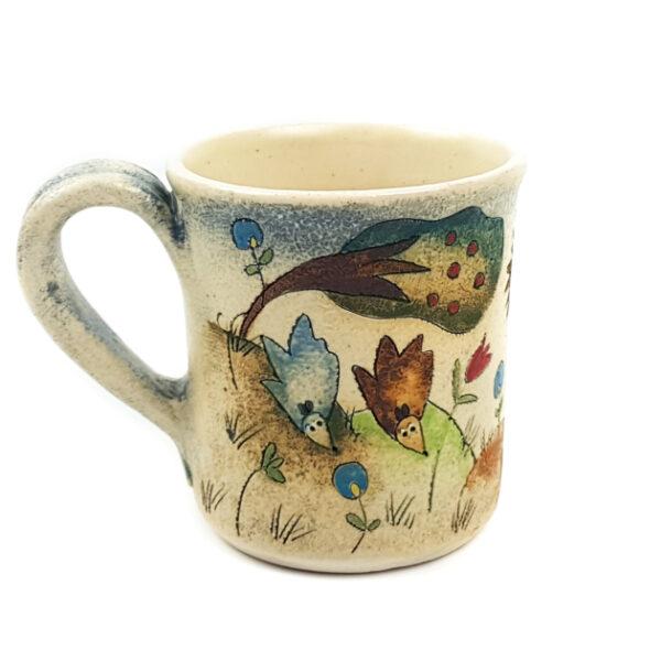 Keramik Becher mit Märchen (Hase) 0,3 L